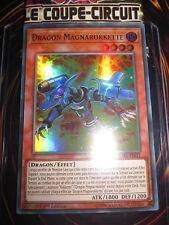 YU-GI-OH! UR ULTRA RARE DRAGON MAGNAROKKETTE CIBR-FR011 NEUF MINT EDITION 1