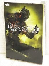 DARK SOULS III 3 Complete Guide PS4 Book MW59*