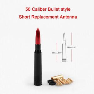 For Ford F150 F250 50Cal Caliber Bullet Aluminum Short Antenna Bronze Kit