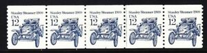 US 2132 MNH 1985 12¢ Stanley Steamer 1909 PNC Plate #2