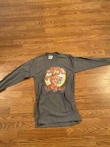 Leo Roach77 Men's Vintage Print T-Shirt. Size Small Long Sleeve