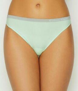 NWT! Calvin Klein Women Mint Color  Pure Seamless Thong