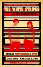 White Stripes 2001 Tour Poster