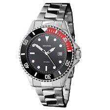 Sekonda Mens Black Dial Bracelet Watch 3078 RRP £49.99