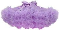 Girls Kids Layers Tulle Tutu Skirt Dancewear Pettiskirt Princess Ballet Dress