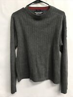 🌴Abercrombie And Fitch Men's M Medium Muscle Gray Long Sleeve Sweater🌴