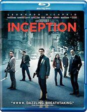 Inception (Blu-ray/DVD, 2010, 2-Disc Set) NEW