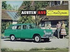 AUSTIN A55 COUNTRYMAN Car Sales Brochure c1962 #1956