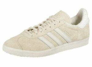 adidas Originals Gazelle Trainers EE5501 - Beige/White - Size UK 7.5