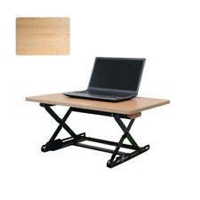 Desk Top Desk Height Adjustable Desk - Small / Maple Beech