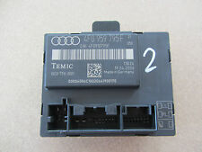 Audi A6 4F Q7  4L Türsteuergerät Steuergerät 4F0 959 795 F 4F0959795F Original