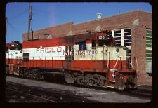 Original Slide SLSF Frisco Class Leader GP15-1 100 In 1980 At Ft. Smith AR