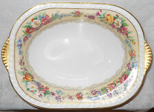 Beautiful Antique Charles Ahrenfeldt Limoges France Open Vegetable Serving Bowl