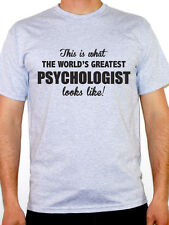 WORLDS GREATEST PSYCHOLOGIST - Mental Health / Fun / Novelty Themed Mens T-Shirt