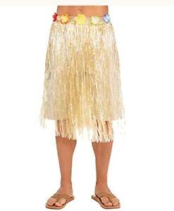 Adult Natural Plastic Hula Skirt