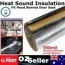 390mil Aluminium Car Heat Sound Deadener Thermals Control Reduce Proof 32sqft/