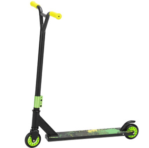 Pro Scooter for Teens and Adults Freestyle Trick Push Strick Scooter Green