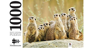 Mindbogglers 1000 Piece Jigsaw Puzzle - Meerkat Family