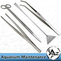 Stainless Steel Aquarium Plant Aquascaping Tweezer Scissor Maintenance Tools