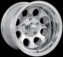 "CPP ION Alloys style 171 Wheels Rims 15x10, 5x5.5"" Polished Aluminum    SET OF 5"