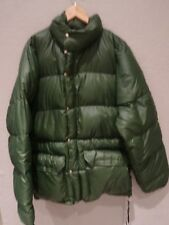 VTG The North Face Brown Label Hunter Green Goose Down Puffer Jacket Sz L