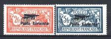 "FRANCE POSTE AERIENNE 1/2 "" MERSON 2F & 5F SALON AVIATION 1927""NEUFS xx TTB P511"