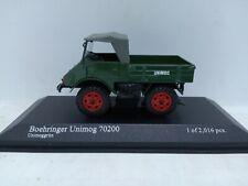 Minichamps Boehringer Unimog 70200 1949 Green. 1/43
