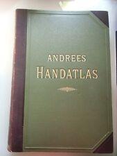 Andrees Allgemeiner Handatlas in 91 Haupt- und 86 Nebenkarten 1893 Atlas