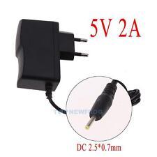 EU-Stecker Netzteil Netzadapter AC100-240V auf/zu DC 5V 2A Adapter 2.5mm X 0.7mm