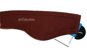 Columbia Thermarator Headring Fleece Men Women Unisex Omni-Heat Deep Rust L/XL