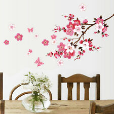 Flor De Pared Pegatina de Pared Adhesivo Decoración del hogar Cherry Blossom Zt