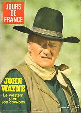 JOURS DE FRANCE N°1279 john wayne fete de l'aéronautique martine carol
