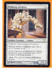 MTG Magic 1 x Dissension Rare  WALKING ARCHIVE 169/180  Artifact  Never played