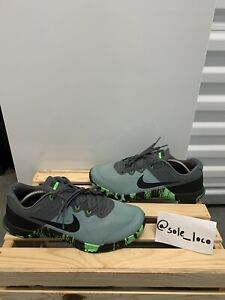 Nike Metcon 2 Mens Sneakers US 10.5 Sticky Rubber Flywire 819899-004 Green