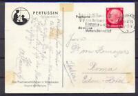 DR 470 Hindenburg 15 Pfg. Einzelfrankatur geprüft Schlegel (vs15)