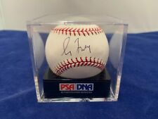 Greg Maddux PSA Grade 9 Mint Baseball Signed in Black Pen PSA Authentification