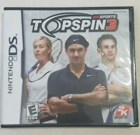 Top Spin 3, Nintendo DS, 2008, Complete, Tested