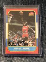 1986 Fleer Michael Jordan Rookie Card! #57 Near Mint++ Fast Shipping!