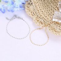 2X 0.99$ Women Gold Plated Ankle Chain Anklet Bracelet Foot Jewelry Sandal Beach