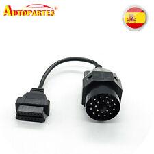 Adaptador Para BMW 20 Pin a OBD 16 pin diagnosis Conector Cable Redondo OBD2