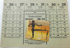 2ww german  1941-2  complete  ration coupon sheet  for malmedy/eupen
