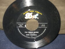 "Don Cornell ""It Isn't Fair/I'll Walk Alone"" 45"