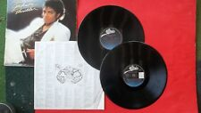 "Michael Jackson ""Thriller"" LP + ""The Way You Make Me Feel"" LP"