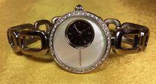 BCBG MAX AZRIA BG-8090 Mother Of Pearl Dial Stainless Steel Ladies Quartz Watch