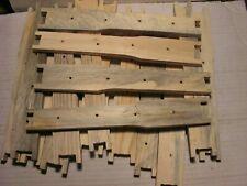 """10 9-1//8/"""" Deep Bee Hive Frames Blued Pine Beekeeping Unassembled"""