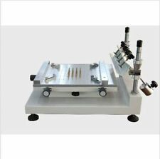 High Precision Manual PCB Screen Press Precise Stencil Solder Printing Machine Y