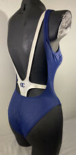 Oceano By La Perla Blue & White Swimsuit Size 6 Italy 42