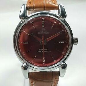 Vintage  Roamer Mechanical Hand Winding Movement dial Watch AB501
