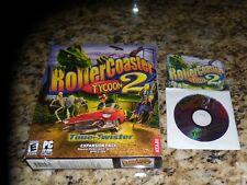 Rollercoaster Tycoon 2 Time Twister Expansion Pack (PC, 2003) Near Mint Game