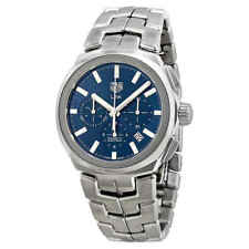 Tag Heuer Link Chronograph Automatic Blue Dial Men's Watch CBC2112.BA0603